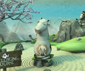 Total Greek Yoghurt Advert – Cow's Singing on a Mountain Top