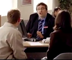 Nationwide Advert – Funny Annoying Bank Manager