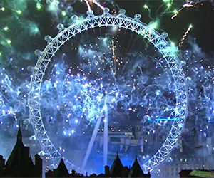 London Fireworks 2014